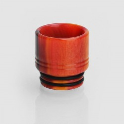 810 Wide Bore Drip Tip for TFV8 / TFV12 Tank / Goon / Kennedy / Mad Dog RDA - Orange, Epoxy Resin, 16mm