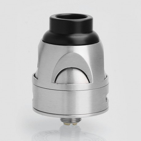 Galatek Style RDA Rebuildable Dripping Atomizer - Silver, Stainless Steel, 24mm