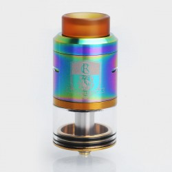 Authentic IJOY Combo RDTA II Rebuildable Dripping Tank Atomizer - Rainbow, Stainless Steel, 6.5ml, 25mm Diameter