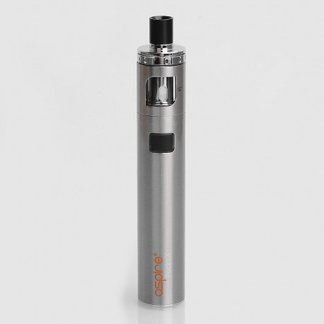 Authentic Aspire PockeX Pocket AIO 1500mAh All-in-One Starter Kit - Silver, Stainless Steel, 2ml, 0.6 Ohm