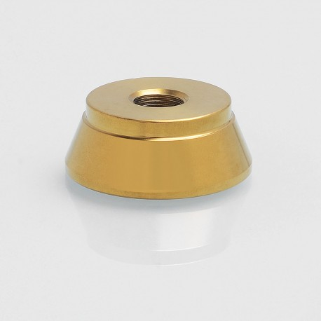 Authentic Iwodevape 510 Display Base Stand for RDA / RTA / Clearomizer - Gold, Stainless Steel