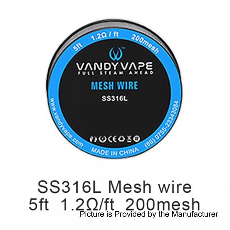 Αποτέλεσμα εικόνας για VANDY VAPE MESH SS316L