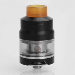 Authentic Wismec GNOME Sub Ohm Tank Atomizer - Black, Stainless Steel, 2ml, 25mm Diameter
