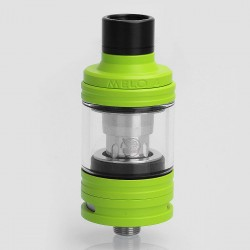 Authentic Eleaf MELO 4 Sub Ohm Tank Atomizer - Green, Stainless Steel, 2ml, 22mm Diameter