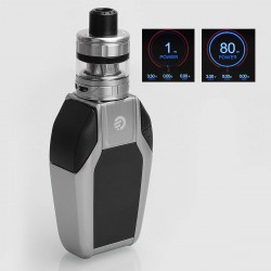 Authentic Joyetech EKEE 80W 2000mAh TC VW Variable Wattage Mod + ProCore Motor Tank Kit - Silver, 1~80W, 4.5ml