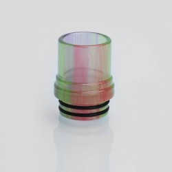 810 Translucent Drip Tip for TFV8 Sub Ohm Tank - Green, Epoxy Resin, 20mm