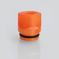 810 Flat Mouthpiece Drip Tip for TFV8 / TFV12 Tank / Goon / Kennedy / Battle RDA - Random Color, Epoxy Resin, 17mm