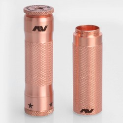 M1P5 V2 Stacked Style Extended Hybrid Mechanical Mod - Copper, Copper, 2 x 18650