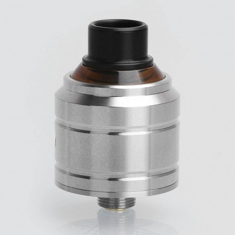 YFTK Comet BF Capable Style RDA Rebuildable Dripping Atomizer w/ Squonk Pin - Silver, 316 Stainless Steel, 22mm Diameter