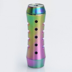 HStone Vader Style Hybrid Mechanical Mod - Rainbow, Stainless Steel, 1 x 18650 / 20700