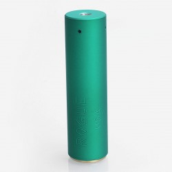 Rogue Style Hybrid Mechanical Mod - Green, Aluminum + Brass, 1 x 18650