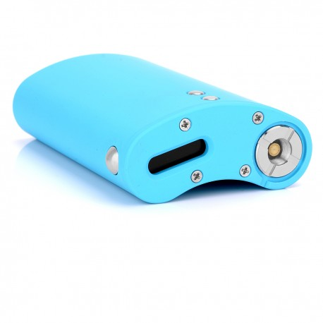 SXK VF Style 60W TC VW Variable Wattage Box Mod - Blue, Aluminum, 1~60W, 2 x 18650, Touch Feeling