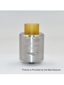 Authentic Centsu Vape Hanglee RDA Rebuildable Dripping Atomizer - Silver, Stainless Steel, 25mm Diameter