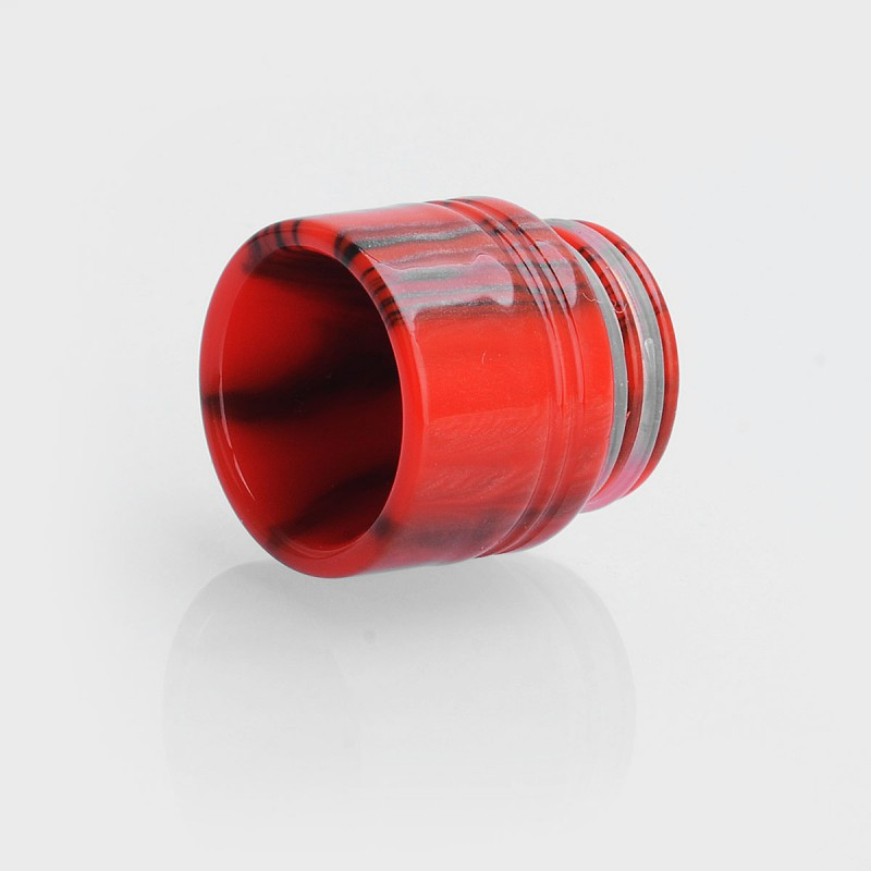 810 Red Black Epoxy Resin 16mm Drip Tip For Tfv8 Tfv12