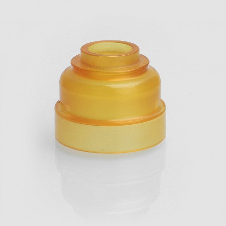 SXK Replacement Top Cap Sleeve for Armor 1.0 Style RDA - Yellow, PEI