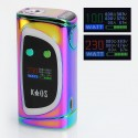Authentic Sigelei Kaos Spectrum 230W TC VW Variable Wattage Mod - Chromatic, Zinc Alloy, 10~230W, 2 x 18650