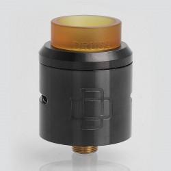 Authentic Augvape Druga RDA Rebuildable Dripping Atomizer w/ BF Pin - Gun Metal, Stainless Steel, 24mm Diameter