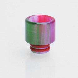 510 Translucent Drip Tip for TFV8 Baby Sub Ohm Tank - Purple, Epoxy Resin, 15.4mm