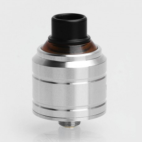 LieFeng Comet Style RDA Rebuildable Dripping Atomizer w/ BF Pin - Silver, 316 Stainless Steel, 22mm Diameter