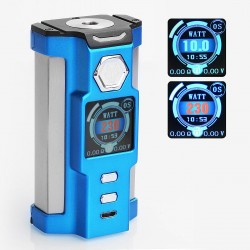 Authentic Sigelei Snowwolf Vfeng 230W VW Variable Wattage Box Mod - Blue, 10~230W, 2 x 18650