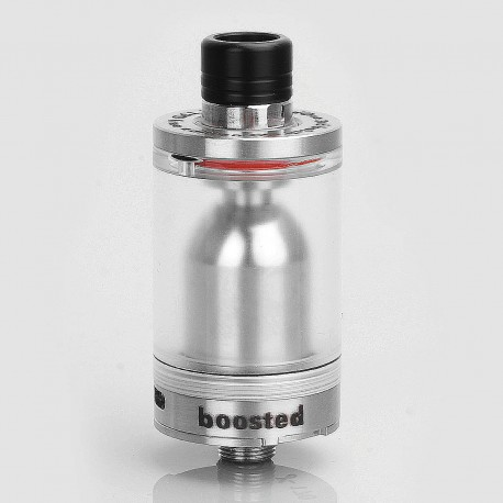 CloudOne V3 Style RTA Rebuildable Tank Atomizer - Silver, 316 Stainless Steel, 4ml, 22mm Diameter