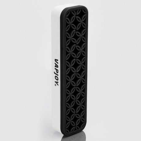 Authentic Vapjoy Ecig Silicone Stander for E-Cigarette Mod / Atomizer / DIY Tool - White + Black, 210 x 53 x 35mm