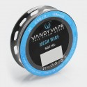 Authentic Vandy Vape SS316L Mesh Wire DIY Heating Wire for Mesh RDA - 0.9 Ohm / Ft, 5 Feet (150 Mesh)
