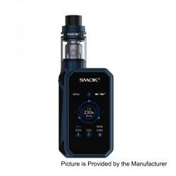Authentic SMOKTech SMOK G-Priv 2 230W TC VW Box Mod + TFV8 X-Baby Tank Standard Kit - Blue Black, 1~230W, 4ml, 2 x 18650