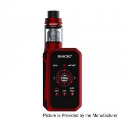 Authentic SMOKTech SMOK G-Priv 2 230W TC VW Box Mod + TFV8 X-Baby Tank Standard Kit - Red Black, 1~230W, 4ml, 2 x 18650