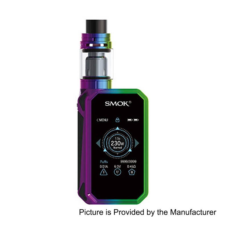 Authentic Smok G Priv 2 230w Tc Vw 7 Color Variable