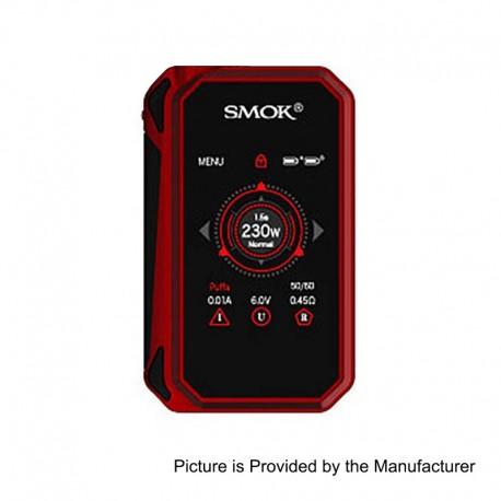 Authentic SMOKTech SMOK G-Priv 2 230W TC VW Variable Wattage Box Mod - Red Black, Zinc Alloy, 1~230W, 2 x 18650
