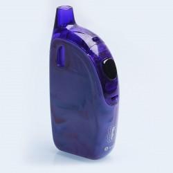 Authentic Joyetech Atopack Penguin SE 50W 2000mAh E-Cigarette Starter Kit - Purple Mix, PETG + Silicone, 8.8ml