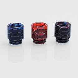 810 Replacement Drip Tip for TFV8 Tank / Goon / Kennedy / Battle RDA - Random Color, Resin, 18mm