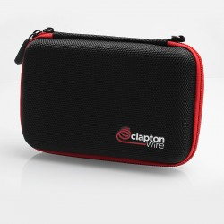Authentic Claptonwire Vape Pocket X9 Carrying Storage Bag for E-cigarette - Black, 150 x 105 x 40mm