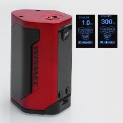Authentic Wismec Reuleaux RX GEN3 300W TC VW Variable Wattage Box Mod - Red, 1~300W, 3 x 18650