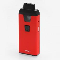 Authentic Eleaf iCare 2 15W 650mAh Starter Kit - Red, 2ml, 1.3 Ohm, USB Charging