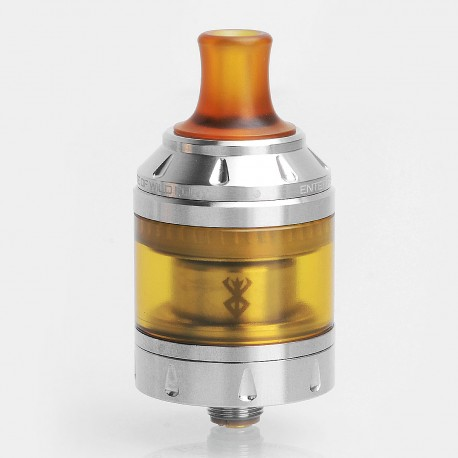 Authentic Vandy Vape Berserker MTL RTA Rebuildable Tank Atomizer - Silver, Stainless Steel, 4.5ml, 24mm Diameter