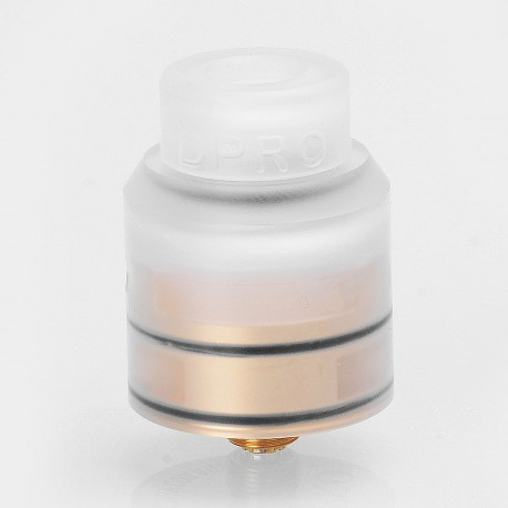 Authentic CoilART DPRO RDA Rebuildable Dripping Atomizer w/ BF Pin - White, PCTG + Stainless Steel, 24mm Diameter