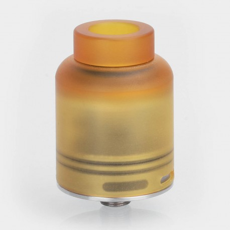Authentic Ignytech Melo RDA Rebuildable Dripping Atomizer - Brown + Silver, PEI + Stainless Steel, 25mm Diameter