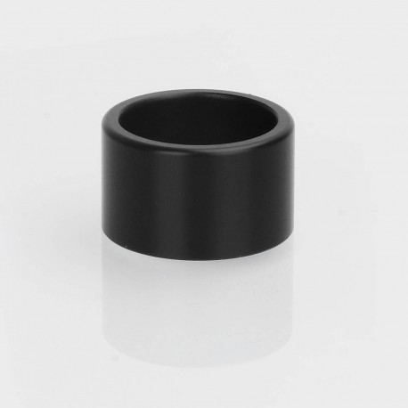 Replacement Drip Tip for Recoil Rebel Style RDA - Black, POM, 9mm