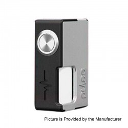Authentic Vandy Vape Pulse BF Squonk Mechanical Box Mod - Black + Grey, Nylon + ABS, 8ml, 1 x 18650 / 20700