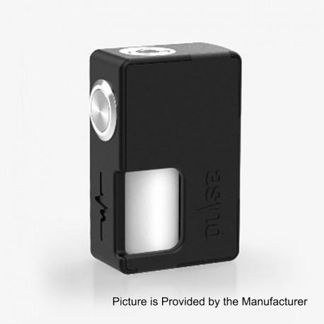 Authentic Vandy Vape Pulse BF Squonk Mechanical Box Mod - Black, Nylon + ABS, 8ml, 1 x 18650 / 20700