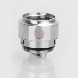 Authentic Wismec WMRBA Coil Head for GNOME Sub Ohm Tank / Reuleaux RX GEN3 Kit - Silver, Stainless Steel, 0.4 Ohm