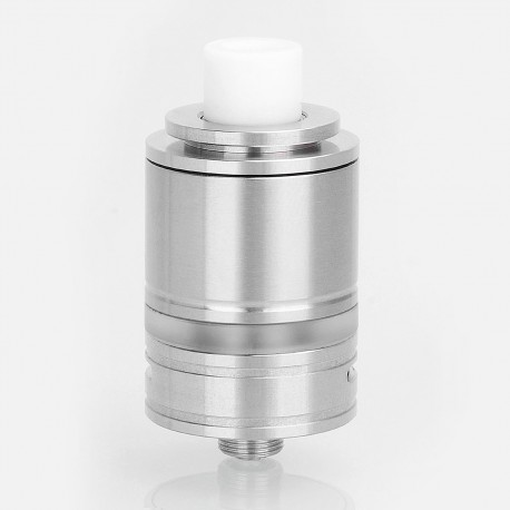 Steam Tuners Style RTA Rebuildable Tank Atomizer - Silver, Stainless Steel, 3ml, 22mm Diameter