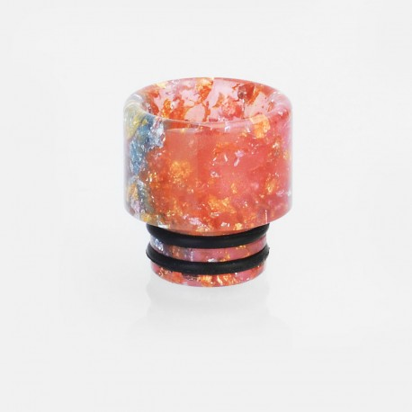 510 Replacement Drip Tip for TFV8 Baby Tank / RDA / RTA - Random Color, Epoxy Resin, 13mm