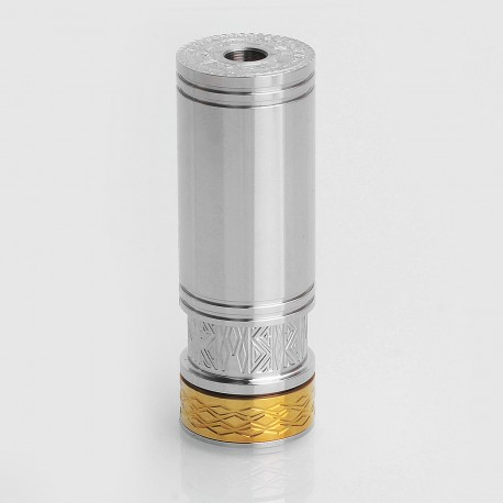 SXK GIVO 57 Style Mechanical Mod - Silver, Stainless Steel, 1 x 18350 / 18490 / 18650
