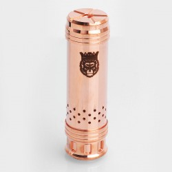 SXK KingKong King Kong Style Mechanical Mod - Copper, Copper, 1 x 26650