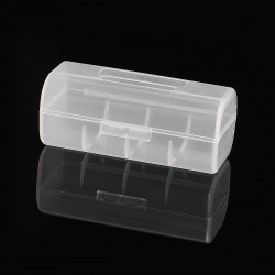 Authentic Iwodevape Protective Storage Case for 26650 Battery - Transparent, PC