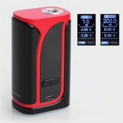 Authentic Eleaf iKuu i200 200W 4600mAh TC VW Variable Wattage Box Mod - Red, 1~200W, 100~315'C / 200~600'F