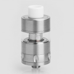 SXK Trillium Style Sub Ohm Tank - Silver, 316 Stainless Steel, 2ml, 22mm Diamter